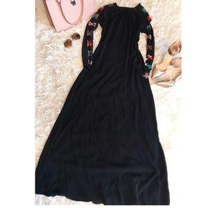 Dresses & Skirts - Colorful bow Abaya Dress❤️❤️❤️